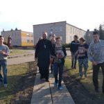 Священнослужитель и члены православной молодежной группы посетили Руденскую вспомогательную школу-интернат