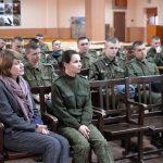 Состоялась встреча с военнослужащими