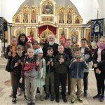 Учащиеся Воскресной школы Покровского прихода Озерицкой Слободы закончили учебный год паломнической поездкой