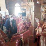 В день памяти апостола и евангелиста Иоанна Богослова епископ Вениамин совершил Литургию в Иоанно-Богословском монастыре деревни Домашаны