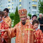 В Неделю 5-ю по Пасхе, о самаряныне епископ Борисовский и Марьиногорский Вениамин совершил Божественную литургию в храме святителя Николая Чудотворца города Березино