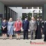 Епископ Вениамин посетил ГУО «Гимназия №1 г. Борисова» и принял участие в торжественной линейке, посвящённой празднику Последнего звонка