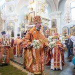 Епископ Борисовский и Марьиногорский Вениамин возглавил торжества в честь дня памяти равноапостольных Мефодия и Кирилла и Дня славянской письменности и культуры