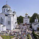 Епископ Борисовский и Марьиногорский Вениамин принял участие в торжествах, посвященные празднованию памяти преподобной Евфросинии Полоцкой