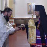 В день памяти святителя Луки, архиепископа Симферопольского епископ Борисовский и Марьиногорский Вениамин совершил Литургию в Благовещенском монастыре