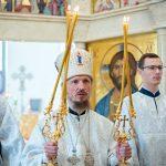 Престольный праздник в монастыре в честь св. блж. Ксении Петербургской д. Барань