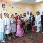 В учреждении здравоохранения «Борисовский родильный дом» поздравили женщин