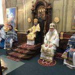 Божественная литургия в Ляденском Благовещенском мужском монастыре