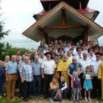 В поселке Яловица Смолевичского района освятили колокола для казачьей часовни и установили поклонный крест