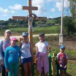 Члены братства Трех Виленских мучеников г. Логойска совершили поход в аг. Гайна