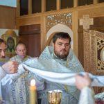 Совершено великое освящение храма святого пророка Илии д. Божино Березинского р-на