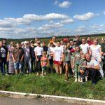 В д. Прилепы Смолевичского района прошел слет православной молодежи