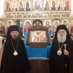 Митрополит Воcтрский Тимофей, экзарх Пресвятого Гроба Господня на Кипре, посетил Борисовскую епархию