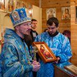 Престольный праздник отметил храм в честь иконы Пресвятой Богородицы «Всех скорбящих Радость» в деревне Заполье