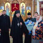 В неделю 24-ю по Пятидесятнице епископ Борисовский и Марьиногорский Вениамин, возглавил Божественную литургию в Воскресенском кафедральном соборе г. Борисова