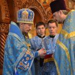 Епископ Борисовский и Марьиногорский Вениамин возглавил Божественную литургию в храме Рождества Христова в г. Борисове