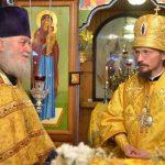 В день памяти святителя Николая Чудотворца епископ Борисовский и Марьиногорский Вениамин совершил Божественную литургию в храме святителя Николая Чудотворца д. Турец