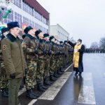 Церемония принятия воинской присяги прошла в Марьиной Горке