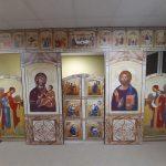 В домовой церкви Логойского дома-интерната установили новый иконостас