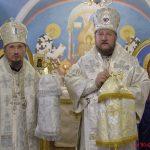 Состоялось освящение домового храма епархиального управления Борисовской епархии в честь святителя Саввы, первого архиепископа Сербского