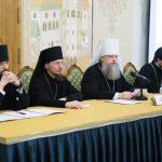 Епископ Борисовский и Марьиногорский Вениамин принял участие в работе семинара для руководителей епархиальных ОРОиК