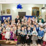 Рождественские утренники для детей воскресной школы прошли в г. Марьина Горка