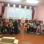 В рамках акции «Наши дети» священнослужитель посетил ТЦСОН Пуховичского района и социальный приют в д. Дубровка