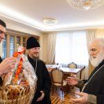 Епископ Борисовский и Марьиногорский Вениамин поздравил с днем рождения Патриаршего Экзарха всея Беларуси