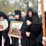 Престольный праздник отметил женский монастырь в честь св. блж. Ксении Петербургской д. Барань