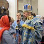 В канун праздника праздника Сретения Господня епископ Борисовский и Марьиногорский Вениамин возглавил всенощное бдение в Воскресенском кафедральном соборе г. Борисова