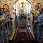 В Неделю о блудном сыне епископ Борисовский и Марьиногорский Вениамин совершил Божественную литургию в Богоявленском храме-часовне г. Борисова