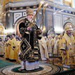 В одиннадцатую годовщину интронизации Святейшего Патриарха Кирилла епископ Вениамин сослужил Предстоятелю Русской Церкви за Литургией в Храме Христа Спасителя