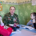 В воскресной школе кафедрального собора святого благоверного князя Александра Невского г. Марьина Горка прошли уроки мужества
