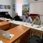 Епископ Вениамин принял участие в заседании Совета Института теологии БГУ