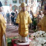 В день юбилейных событий в аг. Крайск Логойского района епископ Борисовский и Марьиногорский Вениамин посетил местный приход и совершил Божественную литургию