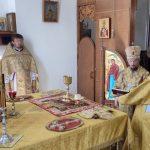 В Неделю 6-ю по Пятидесятнице епископ Борисовский и Марьиногорский Вениамин совершил Литургию в кафедральном соборе Воскресения Христова города Борисова