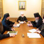 Епископ Борисовский и Марьиногорский Вениамин принял участие в очередном заседании Архиерейского совета Минской митрополии