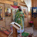 Престольный праздник отметил храм в честь успения прав. Анны д. Дудичи Пуховичского района