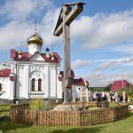 В день 20-летия прославления Царской семьи епископ Вениамин возглавил Божественную литургию на подворье Свято-Ксениевского монастыря в д. Юзефово
