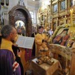 В канун дня памяти святителя Георгия (Конисского) епископ Вениамин сослужил архиепископу Могилевскому и Мстиславскому Софронию