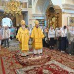 Епископ Борисовский и Марьиногорский Вениамин принял участие в торжествах в честь святителя Георгия (Конисского)