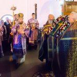 В канун праздника Воздвижения Креста Господня митрополит Вениамин совершил всенощное бдение в Свято-Духовом кафедральном соборе города Минска