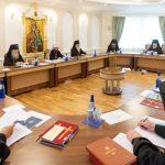 Под председательством митрополита Минского и Заславского Вениамина состоялось очередное заседание Синода Белорусской Православной Церкви