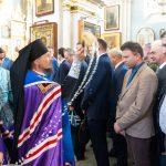 Епископ Вениамин совершил в Свято-Духовом кафедральном соборе города Минска молебен перед началом нового учебного года