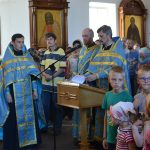 В храме Рождества Христова г. Борисова прошли молебны на начало учебного года и за мир в Беларуси