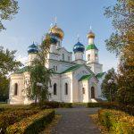 Патриарший Экзарх возглавил Литургию в Никольском кафедральном соборе города Бобруйска