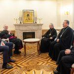 Патриарший Экзарх встретился с ватиканским дипломатом архиепископом Антонио Меннини