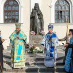 Патриарший Экзарх возглавил церковные торжества в Жировичской обители