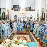В Жировичской обители состоялось соборное архиерейское богослужение