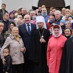 Патриарший Экзарх всея Беларуси освятил храм пророка Иоанна Крестителя в агрогородке Шершуны
